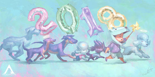 HAPPY NEW YEAR 2018 by Apolar