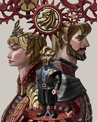 HOUSE LANNISTER by Apolar