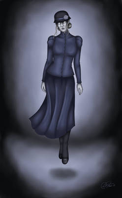 Abigail Ironlock,revengeful ghost by DiFraies