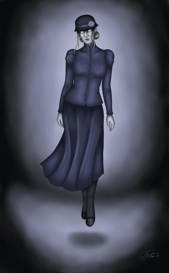Abigail Ironlock,revengeful ghost by DiFraies by TanukiTagawa