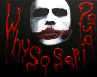 Joker Painting Final by joemanoh