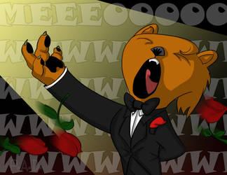 Opera Cat by joemanoh