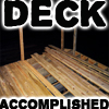 Deck Accomplished by cornycollinsshow