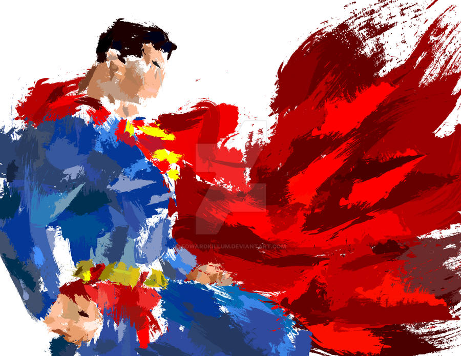 39 abstract 39 superman splatter by edwardkillum on deviantart - Superhero iphone wallpaper hd ...