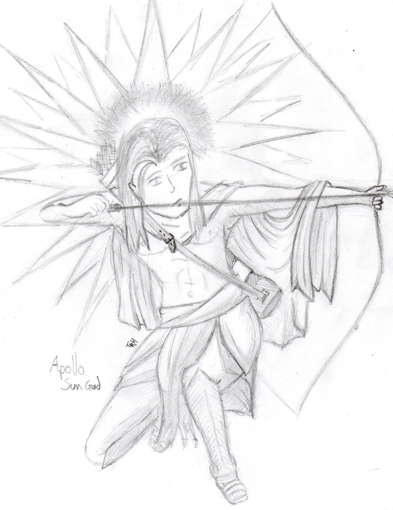 apollo greek god of the sun by akunichitaiga on deviantart