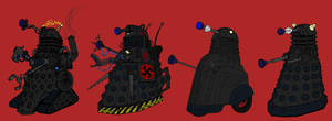Evolution of the Daleks by Rassilon001