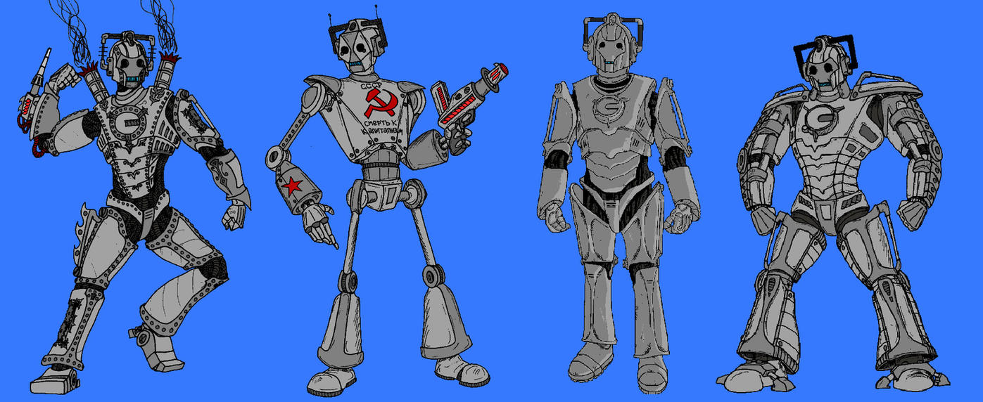 Upgrades of the Cybermen by Rassilon001
