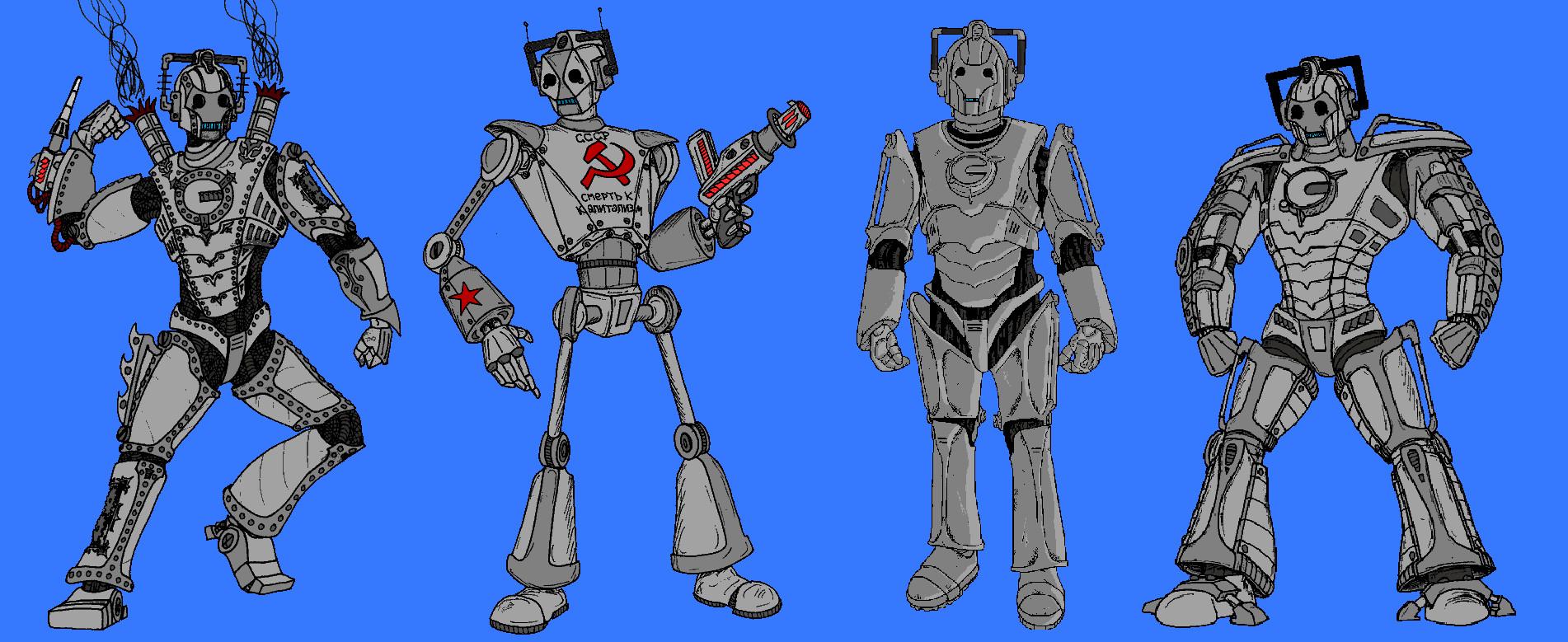 Evolution Of The Cybermen Cybermen Evolution Pic...