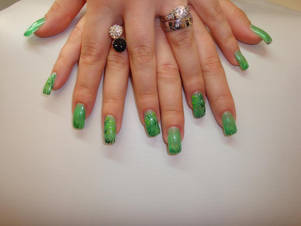 bamboo nails :D by at3ul on DeviantArt