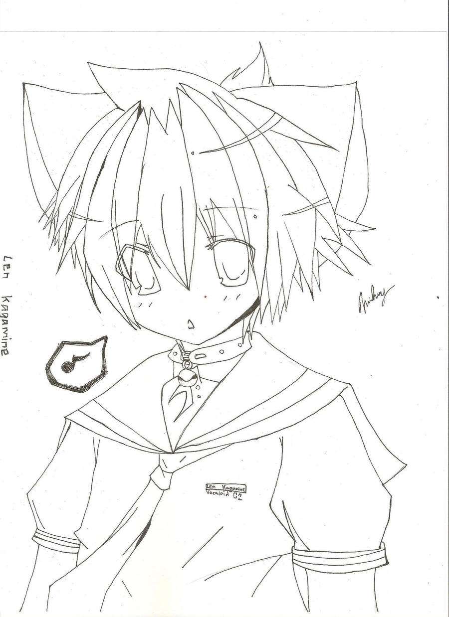 kagamine  Coloring Pages