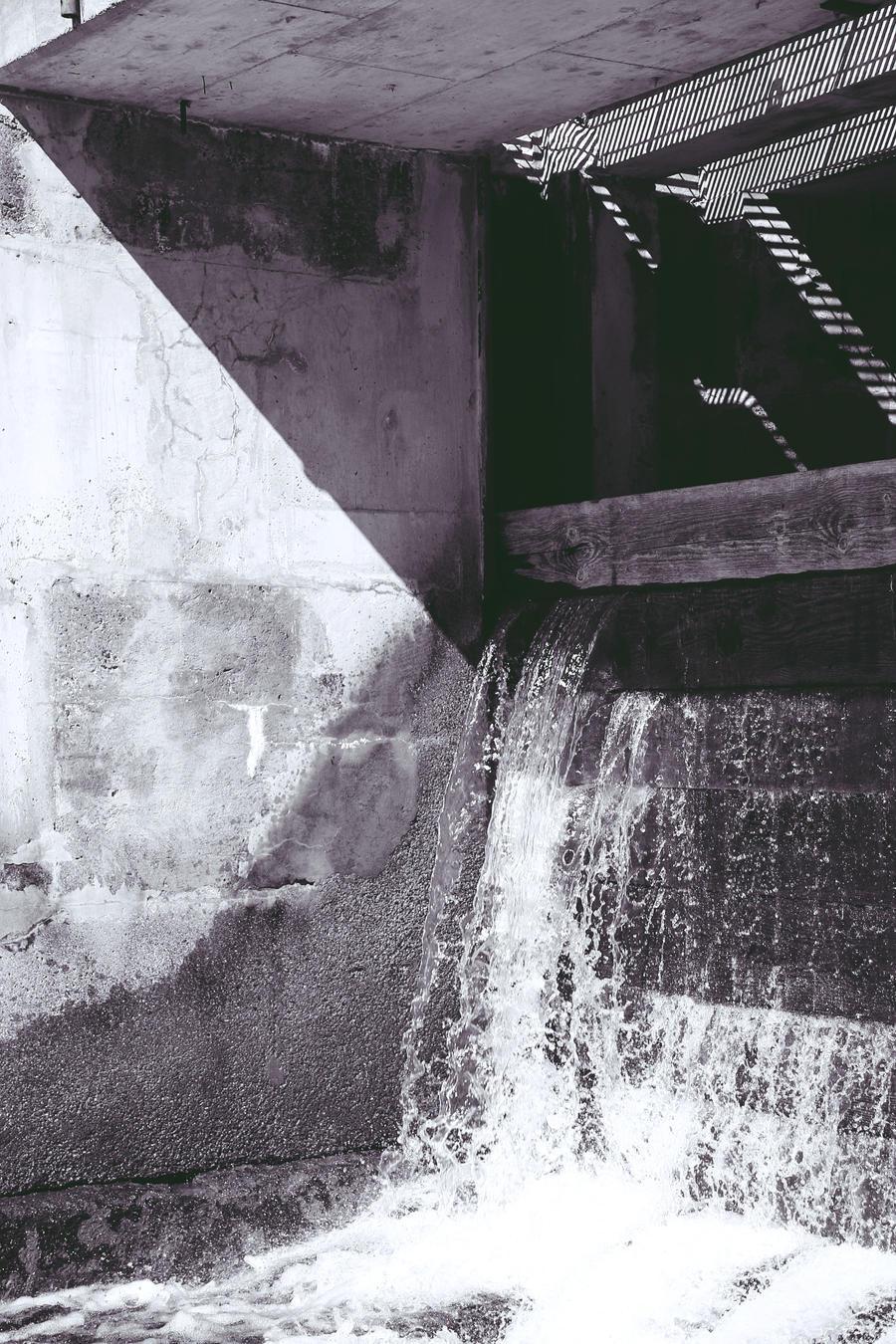 Bala Falls by Adrienneknott
