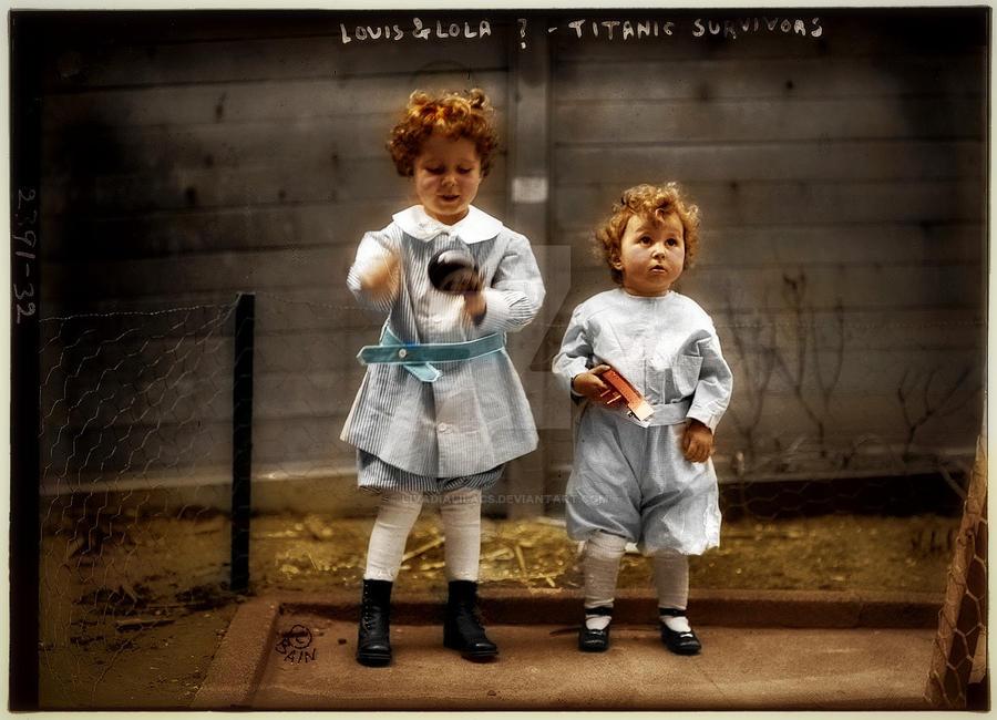 Little Titanic Survivors 1912 By Livadialilacs On Deviantart