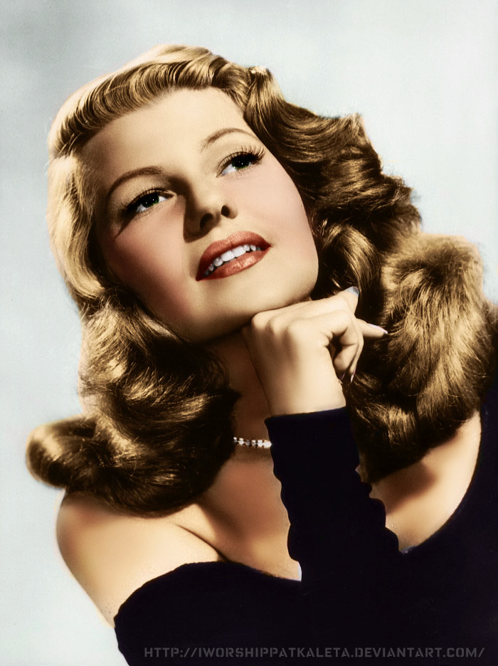 Rita Hayworth by Livadialilacs