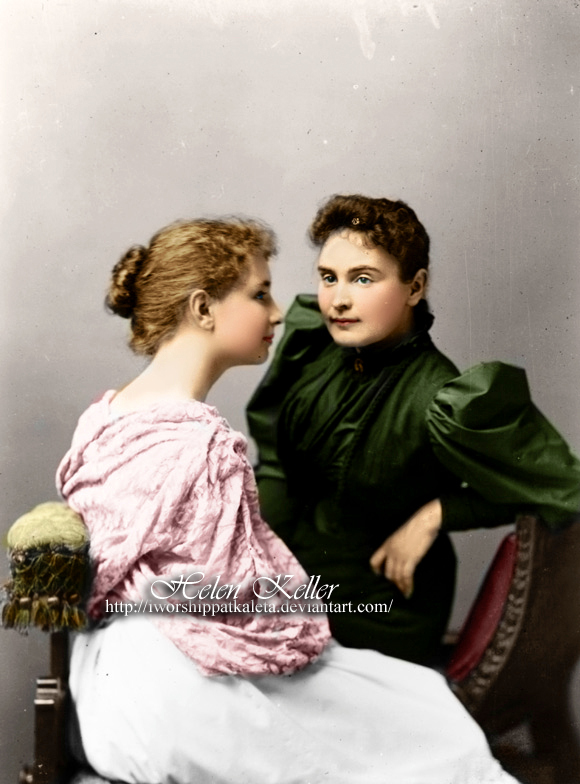 Helen Keller Pictures As A Child In Color
