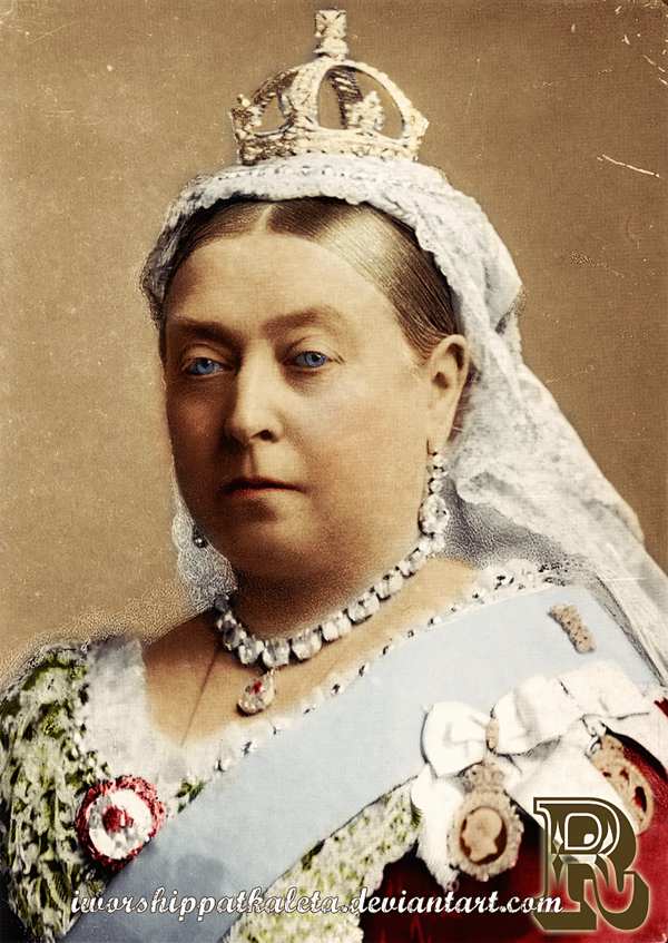Queen Victoria by Livadialilacs