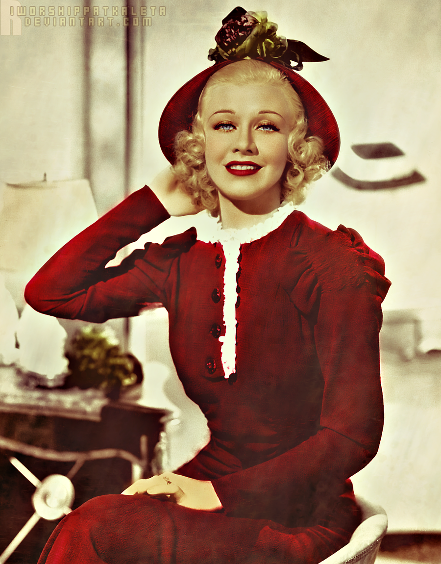 Ginger Rogers Color