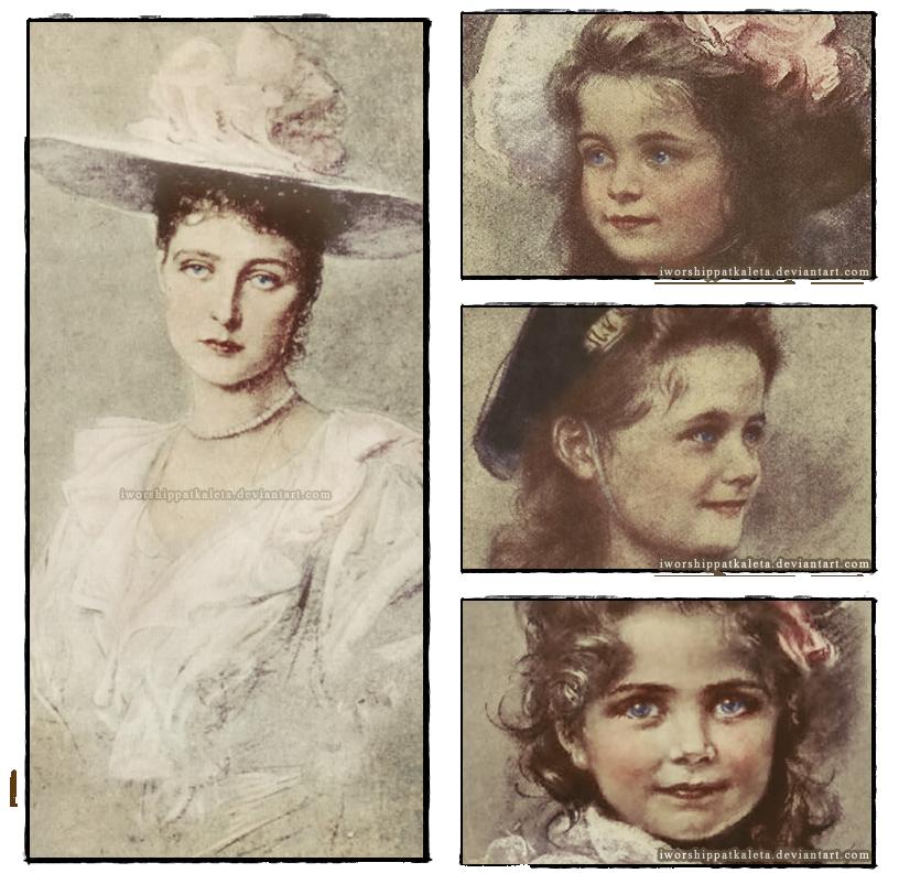 Kaulbach Portraits by Livadialilacs