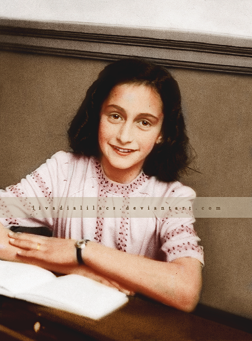 Annelies Marie Frank by Livadialilacs