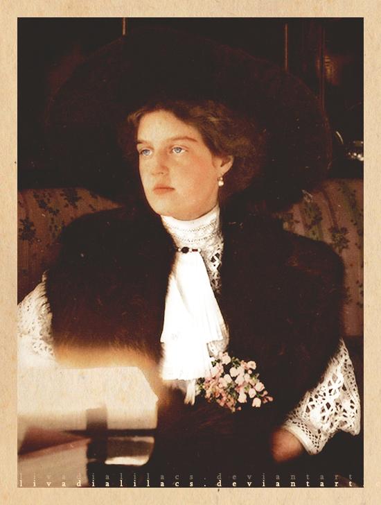An Edwardian Lady by Livadialilacs