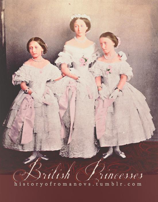 Royal Bridesmaids by Livadialilacs