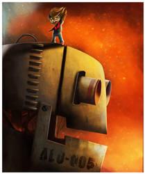 Robot Alo-005