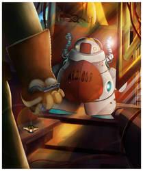 Robot Alo-008