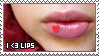 Lips II Stamp by ladieoffical