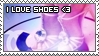 Shoes Stamp by ladieoffical