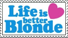 Blonde Stamp by ladieoffical