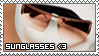 Sunglasses Stamp by ladieoffical