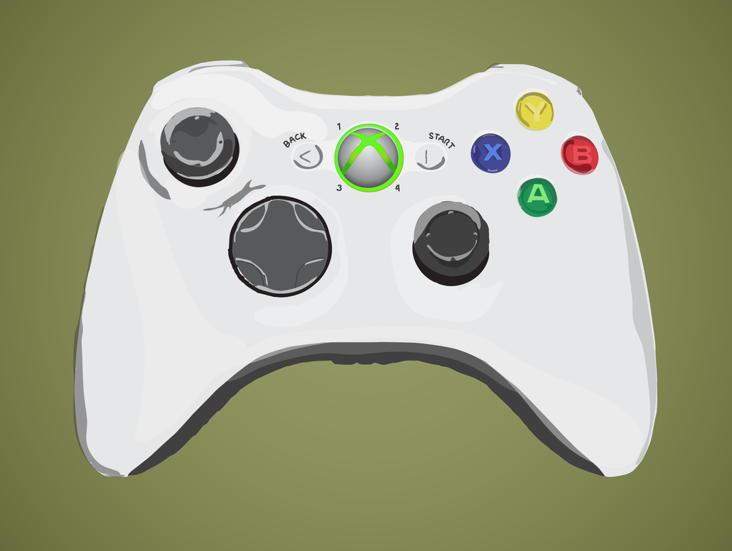 Xbox One Controller Vector Xbox One Controller Outline