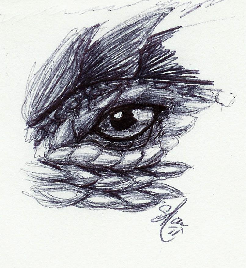 Reptile eye by LadyShar