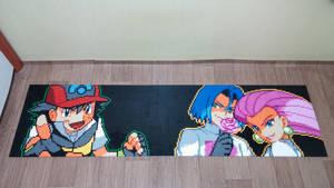 Pokemon Trainer Ash Ketchum VS Team Rocket