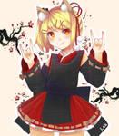 Raspberry Fox  by Saiko-ugh
