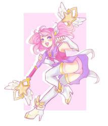 star guardian lux  by Saiko-ugh