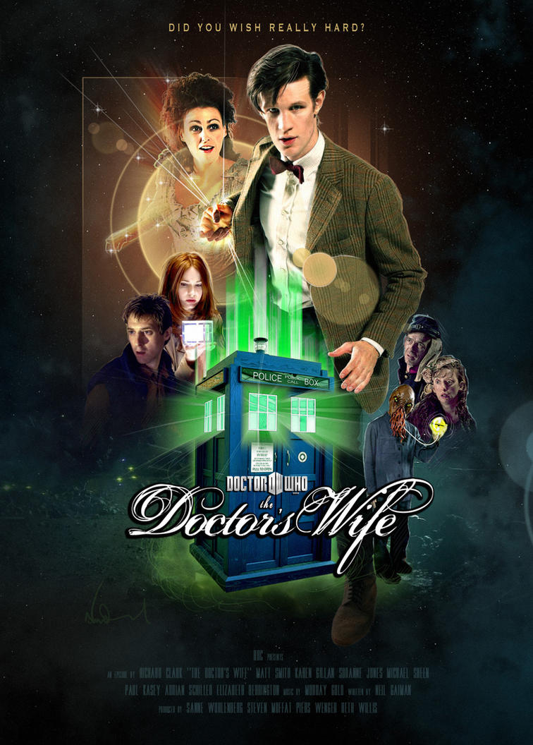 The Doctor's Wife Poster by theyoungtook