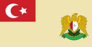 Ottoman Syria Flag