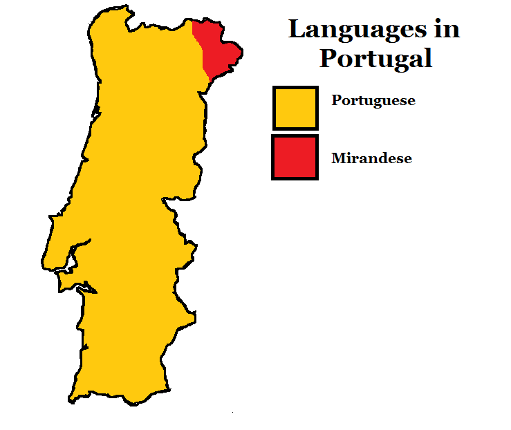 Map Of Languages In Portugal By JoaoMordecaiMapper On DeviantArt - Portugal map png