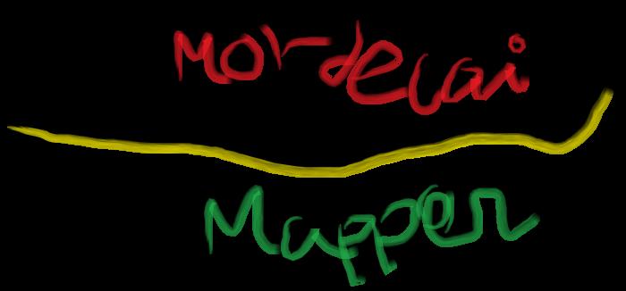Mordecai Mapper Logo (2016) by JoaoMordecaiMapper