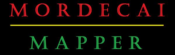 Mordecai Mapper New Logo by JoaoMordecaiMapper