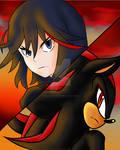 Ryuko Matoi and Shadow The Hedgehog