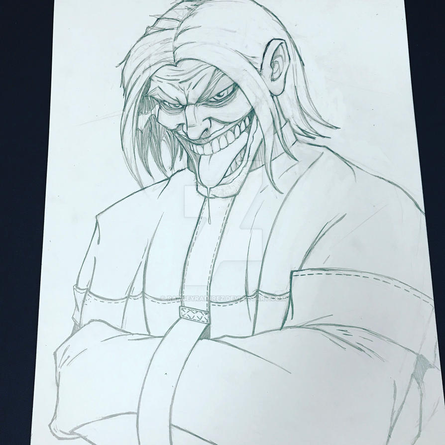 Joker in progress by ramseyramirez