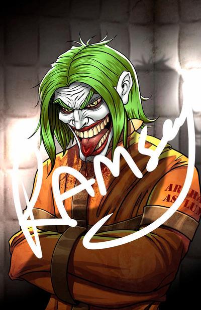 Joker Asylum by ramseyramirez
