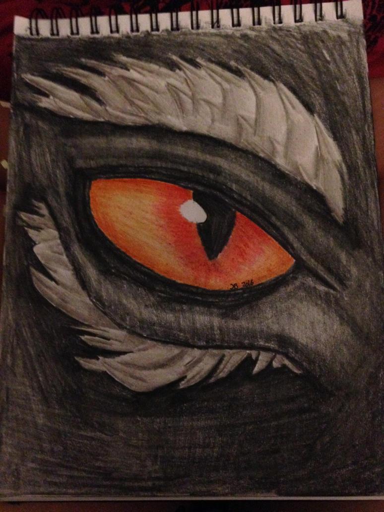 Night dragon eye by Thunderdragon-1999