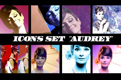 Audrey Icons by portagayola