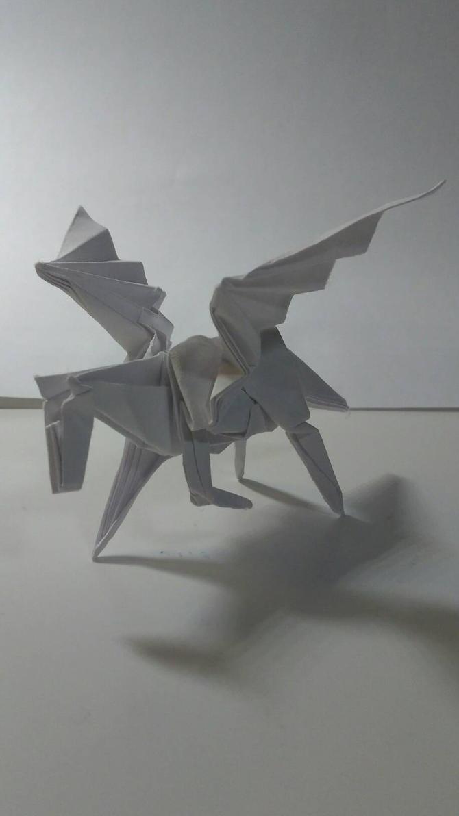Origami Pegasus By Chubro On Deviantart