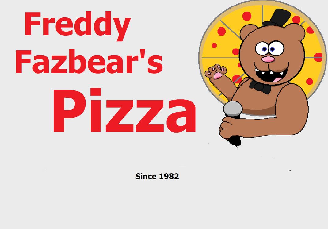 Freddy fazbear s pizza logo by sirnopealot central on deviantart