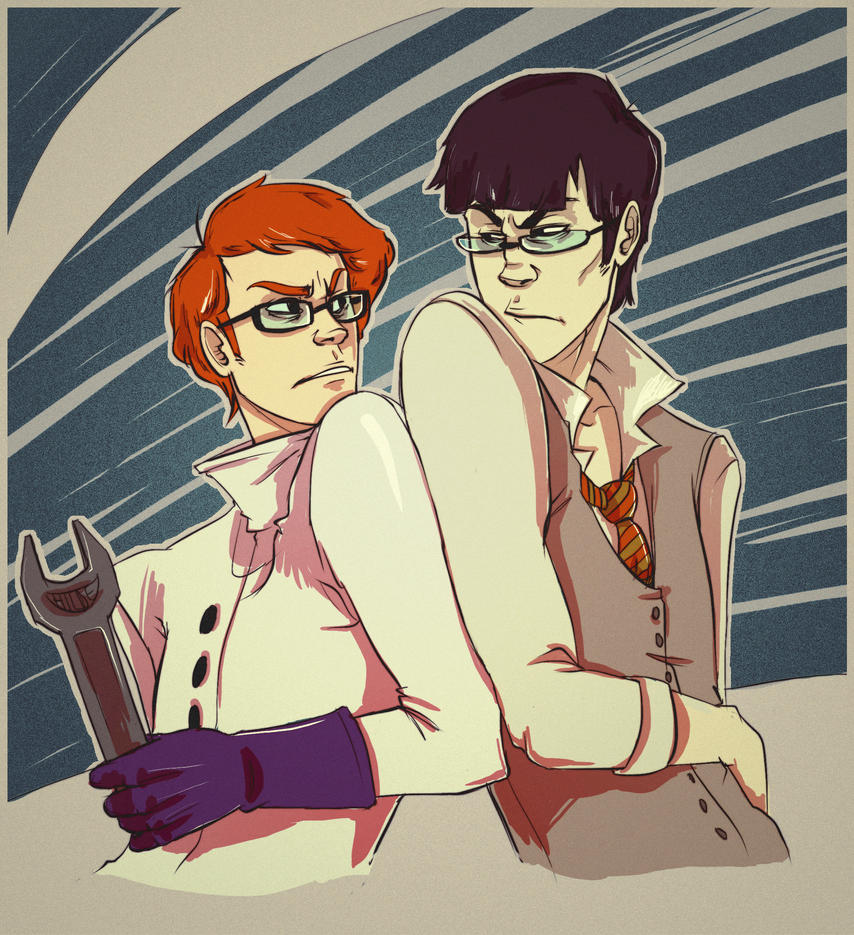 Laboratory Rivals by andrahilde