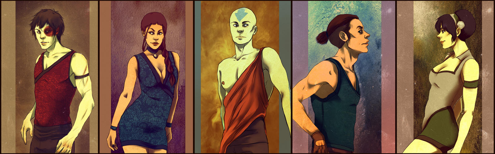 Avatar - The Last Airbender by andrahilde on DeviantArt