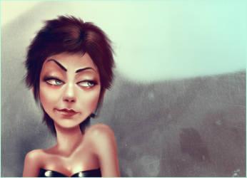 justthegirl by andrahilde
